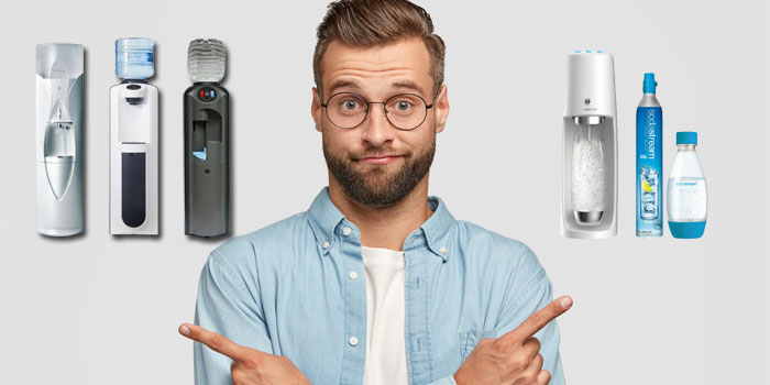 炭酸水ウォーターサーバーと炭酸水メーカーの比較