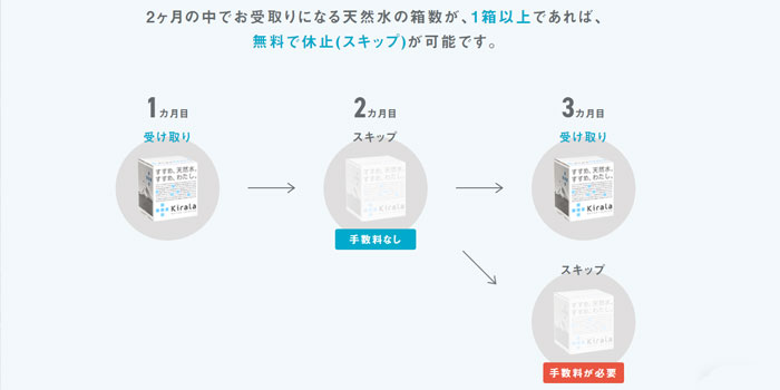 スマートサーバーのスキップ制度