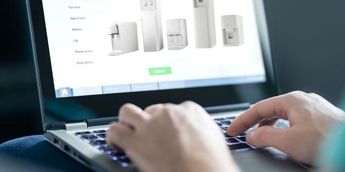 キララフレッシュサーバーの申し込み方法