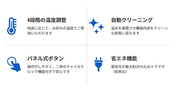 富士の湧水の機能性の特徴