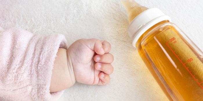 麦茶 赤ちゃん 注意点 デメリット