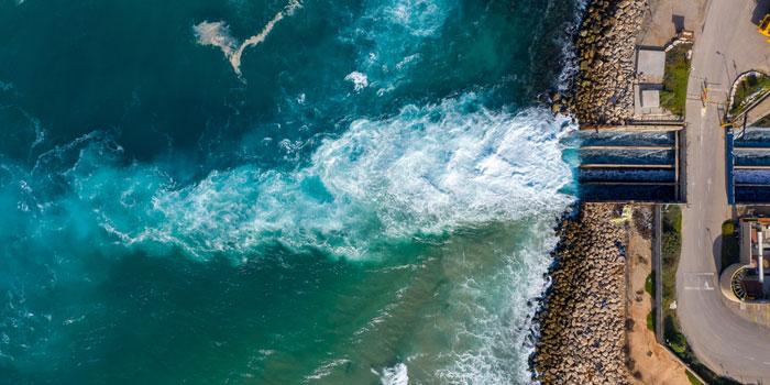 海洋深層水 脱塩処理